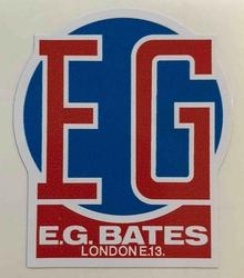 EG Bates London Head Decal-H Lloyd Cycles