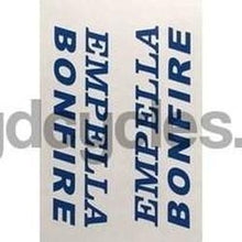 Empella Bonfire Headtube Decal-H Lloyd Cycles