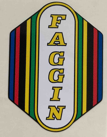 Faggin Head Decal-H Lloyd Cycles