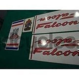 Falcon decal set for Lincolnshire-made frames #2-H Lloyd Cycles