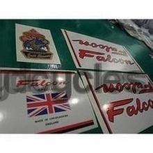 Falcon decal set for Lincolnshire-made frames-H Lloyd Cycles