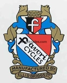 FAVORI head tube decal.-H Lloyd Cycles