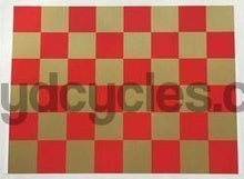 FH Grubb Seat Tube Chequered Panel-H Lloyd Cycles
