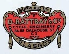 Flying Scot supplied by D Rattray and Co.-H Lloyd Cycles