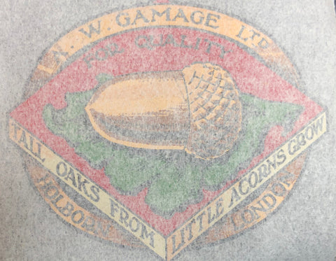 GAMAGES head/seat transfer.  With acorn