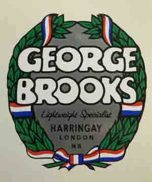 George Brooks crest