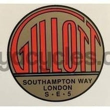 "GILLOTT head/seat. ""Southampton Way London SE5"" address.-H Lloyd Cycles"