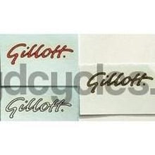 GILLOTT wee scripts for fork tops.-H Lloyd Cycles