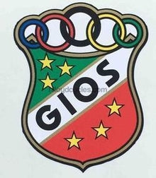 GIOS headtube decal.-H Lloyd Cycles