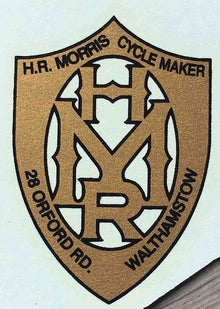 H R MORRIS Head/seat transfer.-H Lloyd Cycles