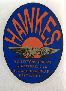 Hawkes Head Decal-H Lloyd Cycles