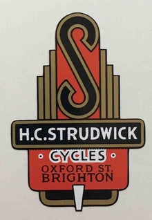 HC Strudwick Head Decal-H Lloyd Cycles
