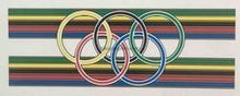 Henry Burton Seat tube bands with Olympic Rings-H Lloyd Cycles