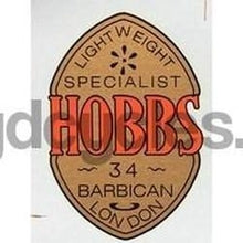 HOBBS head/seat transfer for pre-war machines.-H Lloyd Cycles