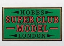 Hobbs Super Club Model Decal-H Lloyd Cycles