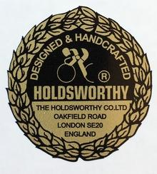HOLDSWORTHY small rosette decal for bottom of seat tube.-H Lloyd Cycles