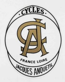 Jacques Anquetil Head Badge-H Lloyd Cycles