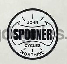 John Spooner Head/Seat Decal-H Lloyd Cycles