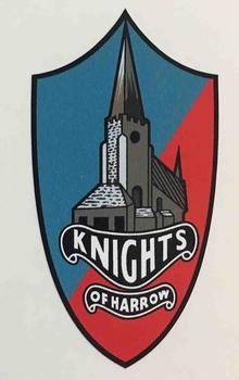Knights of Harrow Crest-H Lloyd Cycles