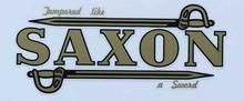 Large Saxon DT Decal-H Lloyd Cycles