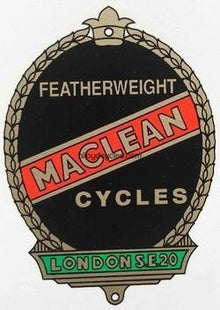 Maclean Featherweight Head/Seat Decal-H Lloyd Cycles