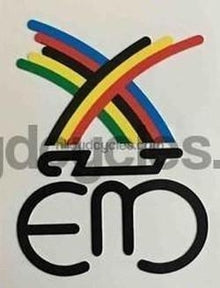 MERCKX. Eddie Merckx head decal.-H Lloyd Cycles