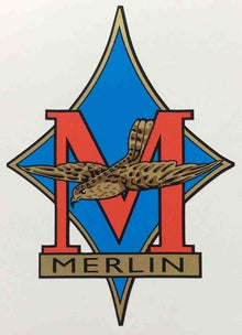MERLIN (London) head decal.-H Lloyd Cycles