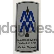 MOULTON head tube decal. Bradford-H Lloyd Cycles