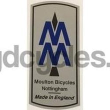 MOULTON head tube decal. Nottingham-H Lloyd Cycles
