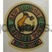 NEW HUDSON Head/seat badge-H Lloyd Cycles