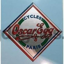 OSCAR EGG head/seat crest decal.-H Lloyd Cycles