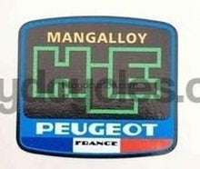 Peugeot Mangalloy HLE Decal-H Lloyd Cycles