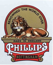 PHILLIPS head/seat crest Nottingham-H Lloyd Cycles