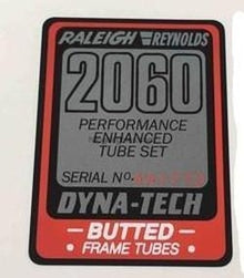 Raleigh 2060 Frame decal-H Lloyd Cycles