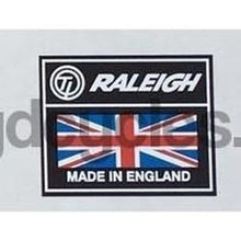 RALEIGH ( and CARLTON !) Oblong seat tube decal-H Lloyd Cycles