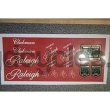 Raleigh Clubman decal set, including 531's.-H Lloyd Cycles