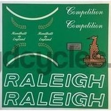 Raleigh Competition Decal set-H Lloyd Cycles