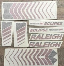 Raleigh Eclipse Decals-H Lloyd Cycles