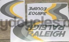 Raleigh Equipe Decal set-H Lloyd Cycles