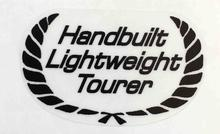 "RALEIGH ""Handbuilt Lightweight Tourer"" seat tube sticker.-H Lloyd Cycles"