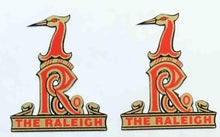 RALEIGH little heron emblem for front forks.-H Lloyd Cycles