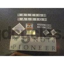 Raleigh Pioneer decal set. 1990 NOS-H Lloyd Cycles