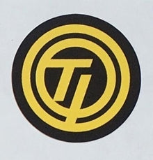 "Raleigh ""Team Professional"" circular ""TI"" decal.-H Lloyd Cycles"