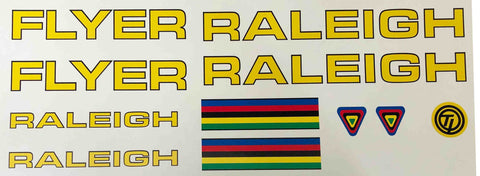 Raleigh Flyer set-H Lloyd Cycles