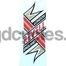 REVELL head/seat crest.-H Lloyd Cycles