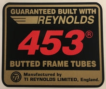 Reynolds 453-H Lloyd Cycles