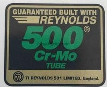 Reynolds 500 Cro-mo-H Lloyd Cycles