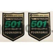 Reynolds 501 AR82-89 French Pair-H Lloyd Cycles