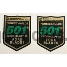 Reynolds 501 AR82-89 Pair-H Lloyd Cycles