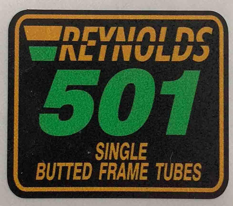 Reynolds 501 Single Butted-H Lloyd Cycles